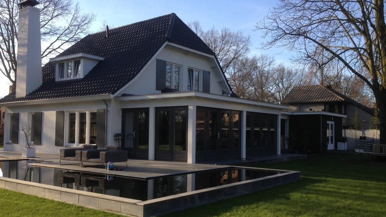 Nieuwbouw en verbouwing woonhuis Beek en Donk